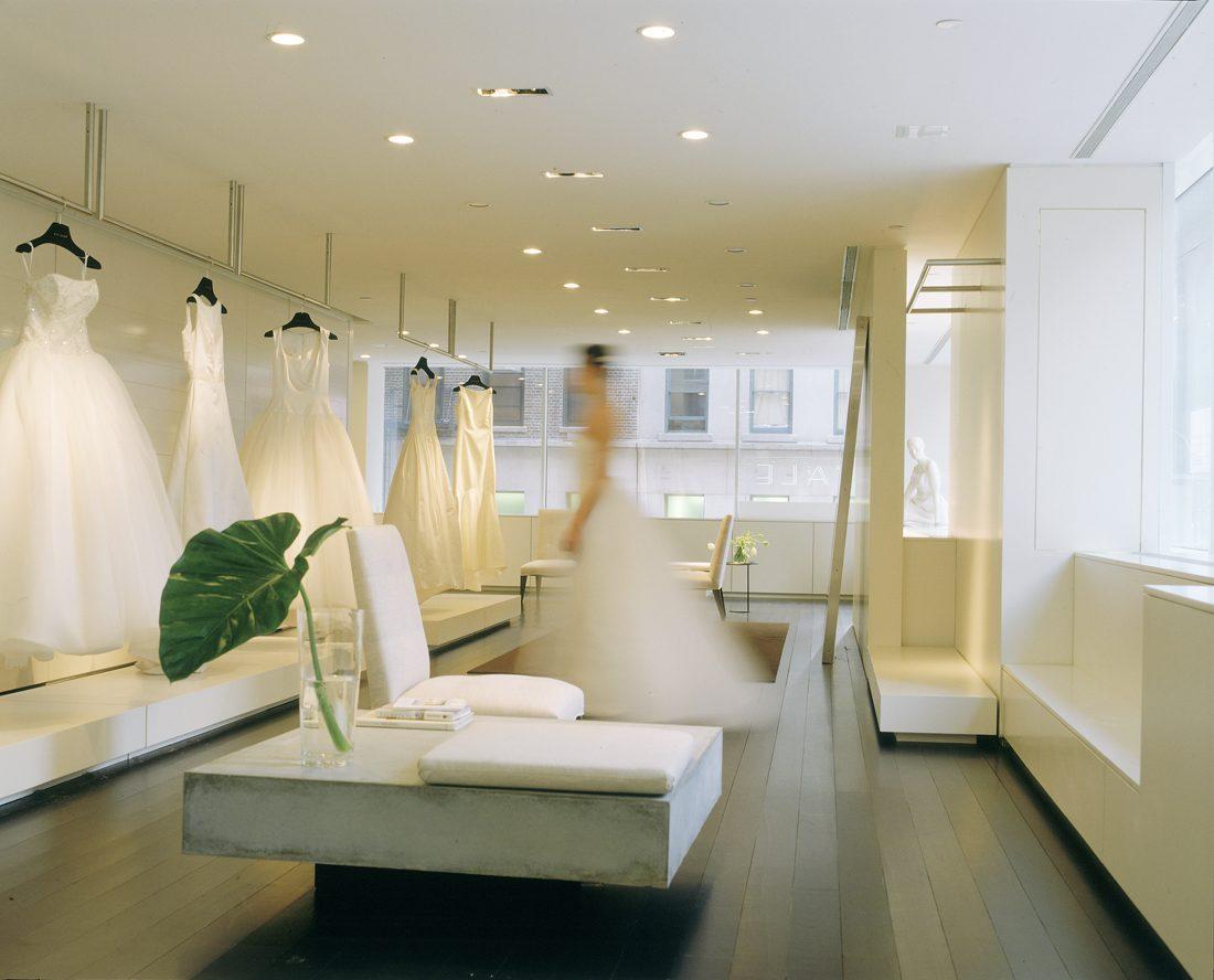 Salon Style New Yorkais bridal salon - steve blatz